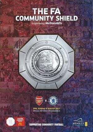 2017 FA Community Shield - The match programme cover