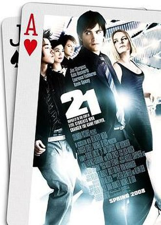 21 (2008 film) - Promotional poster
