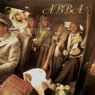 ABBA (album) - Image: ABBA ABBA (1975, Original Polar LP)
