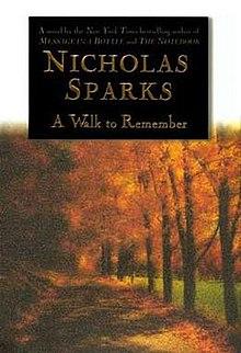A  walk to remember Novel Nicholas Sparks