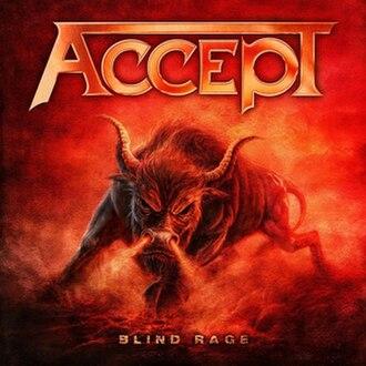 Blind Rage (album) - Image: Accept Blind Rage
