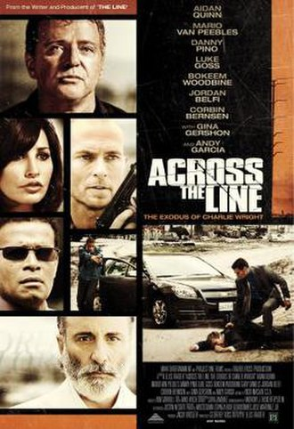 Across the Line: The Exodus of Charlie Wright - Image: Across the Line The Exodus of Charlie Wright