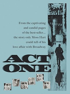 <i>Act One</i> (film) 1963 film by Dore Schary