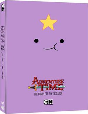 Adventure Time (season 6) - DVD cover