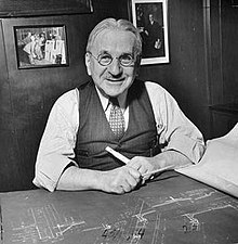 Photo of Albert Kahn, courtesy of Wikipedia