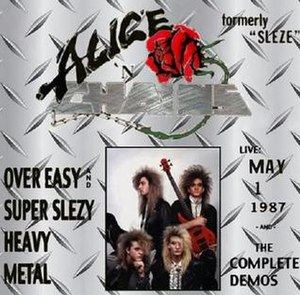 Alice N' Chains - (Clockwise from top left) Nick Pollock, Johnny Bacolas, Layne Staley, James Bergstrom
