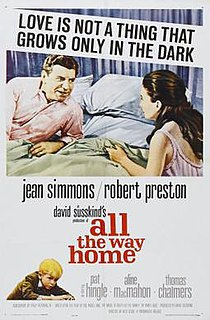 <i>All the Way Home</i> (film) 1963 film by Alex Segal
