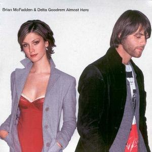 Almost Here (Brian McFadden and Delta Goodrem song) - Image: Almost Here UK CD 1 AUS cover