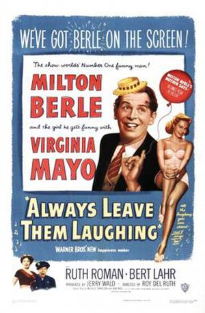 Always Leave Them Laughing - original theatrical poster