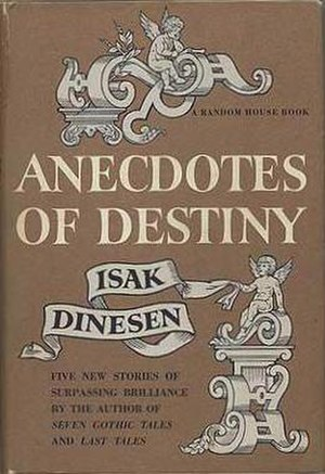 Anecdotes of Destiny - First US edition