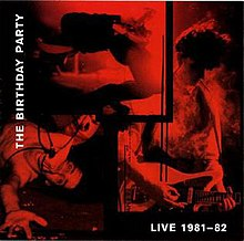 Live Album By The Birthday Party
