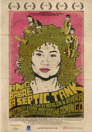 The Woman in the Septic Tank - Theatrical movie poster