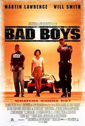 Bad Boys (1995 film) - Theatrical release poster
