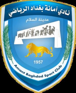 Amanat Baghdad - Image: Baghdad FC Logo