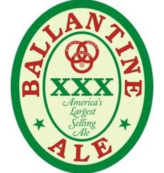 P. Ballantine and Sons Brewing Company - Image: Ballantine xxx logo for use in info box