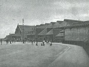 Barrow-in-Furness railway station - Image: Barrow Central Station, undated