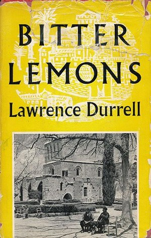 Bitter Lemons - First edition cover