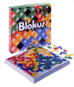 Blokus - Image: Blokus board game