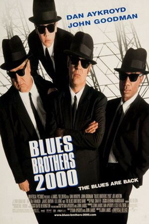 Blues Brothers 2000 - Theatrical release poster