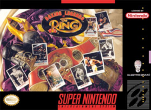 Boxing Legends of the Ring - North American cover art