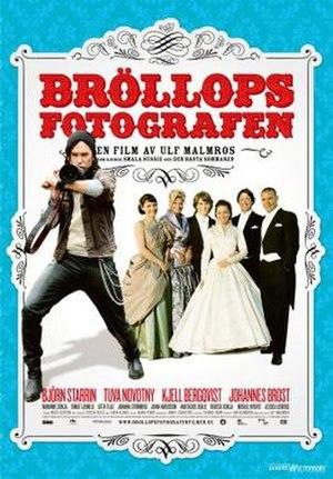 Bröllopsfotografen - Swedish DVD cover