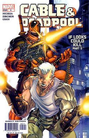 Cable & Deadpool - Image: CABLEDP005l