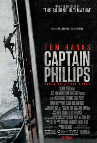 Captain Phillips (film) - Image: Captain Phillips Poster