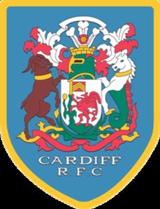 Cardiff RFC - Image: Cardiff rfc badge