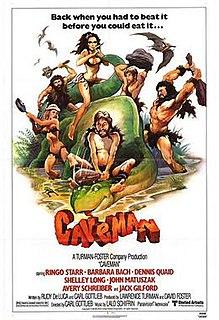 <i>Caveman</i> (film) 1981 film by Carl Gottlieb