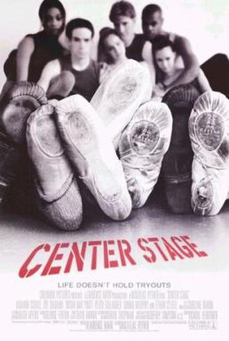 Center Stage (2000 film) - Theatrical release poster