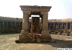 Balangir district - 8th Century AD Chousath Jogini Temple, One out of the four such temple in India.