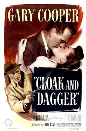 Cloak and Dagger (1946 film) - Theatrical poster