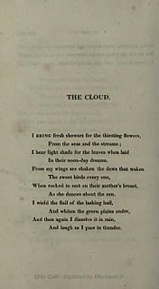poem by Percy Bysshe Shelley