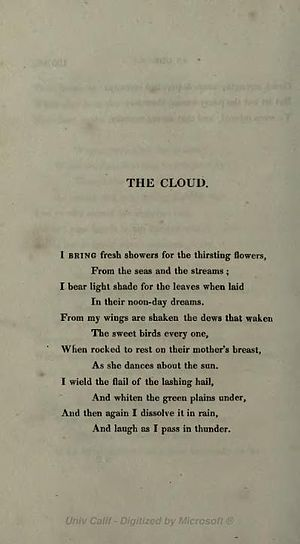The Cloud (poem) - Image: Clou 45
