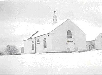 Brookfield Center Historic District (Brookfield, Connecticut) - Photograph of Center Elementary School (taken in 1938)