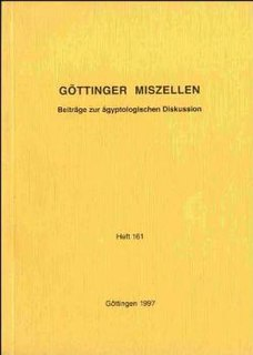 Göttinger Miszellen journal