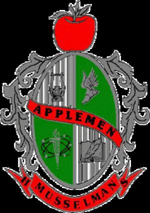 Musselman High School - The crest of Musselman High School, created by Jostens.