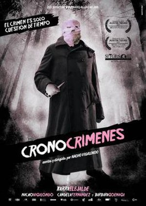 Timecrimes - Promotional release poster