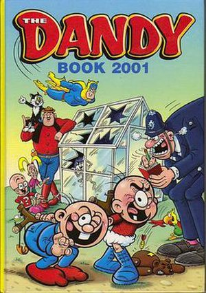 The Dandy Annual - The cover of the Dandy Book 2001
