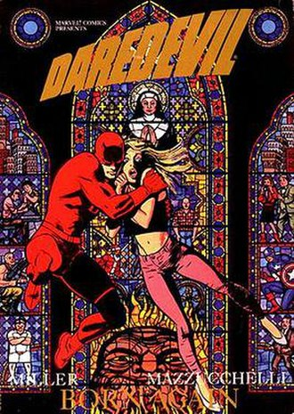Born Again (comics) - Image: Daredevil Born Again