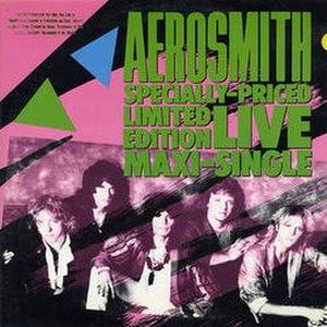 Darkness (Aerosmith song) - Image: Darknessaero