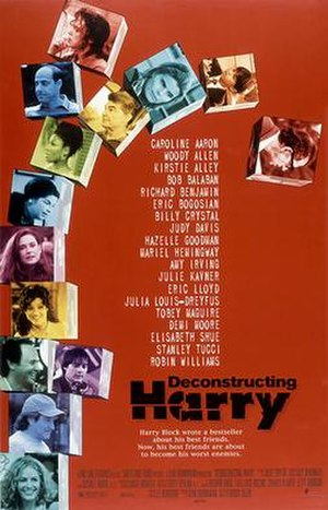 Deconstructing Harry - Theatrical release poster