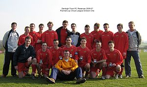 Denbigh Town F.C. - Image: Denbigh Town Reserves 2007