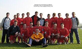 Denbigh Town F.C. - Image: Denbigh Town Reserves 2007