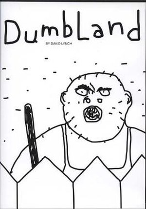 """DumbLand - Cover of the DVD release of DumbLand depicting the adult male character, """"Randy""""."""
