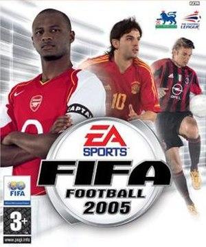 FIFA Football 2005 - Image: FIFA Football 2005 UK cover
