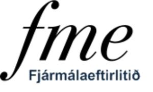 Financial Supervisory Authority (Iceland) - Image: FME logo (is)