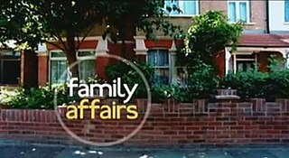 <i>Family Affairs</i> British soap opera