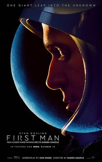 <i>First Man</i> (film) 2018 film directed by Damien Chazelle
