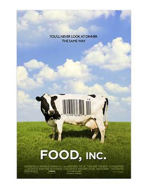 Food, Inc. - Theatrical release poster